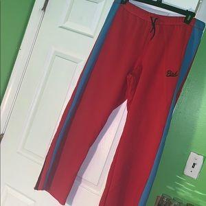 PINK boyfriend pants